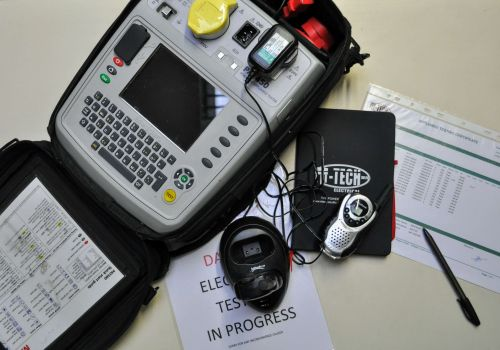 image of m-tech electrical testing equipment